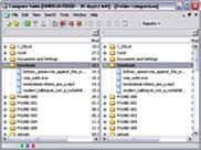 File comparison deals with plain text, binary, office documents, such as MS Office files (.doc and .xls), Adobe Acrobat documents (.pdf), Web Pages (.htm).